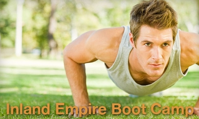 Inland Empire Boot Camp - Multiple Locations: $20 for Three Boot-Camp Classes at Inland Empire Boot Camp