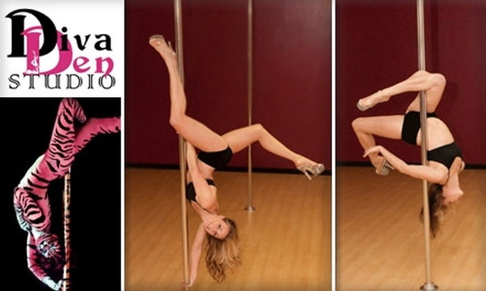 Diva Den Studio - Multnomah: $15 for Introductory Pole Dancing Class at Diva Den Studio