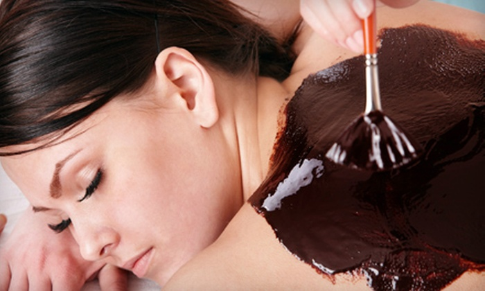 My Spa - Spring Branch Central: $175 for a Valentine's Day Spa Package with Champagne and Strawberries for One at My Spa ($575 Value)