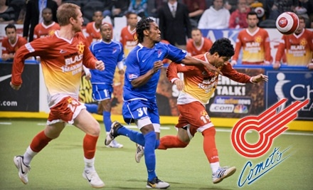 Missouri Comets vs. Chicago Riot on Sun., Feb. 20 at 3:10PM - Missouri Comets in Independence