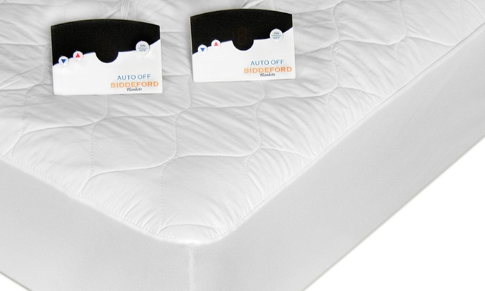 Heated Quilted Mattress Pad