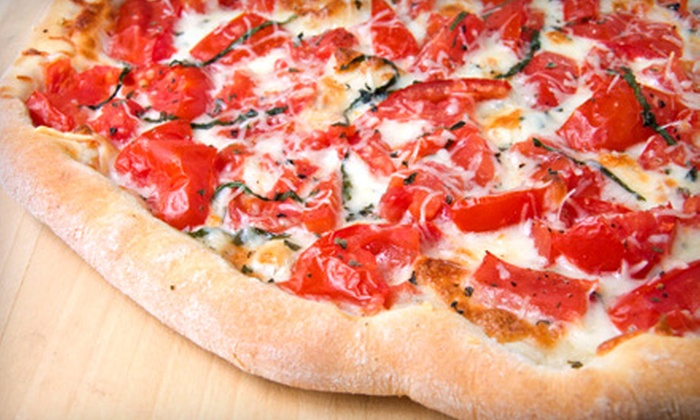 Sicilian Joe's Pizzeria - Multiple Locations: One or Two Medium Pizzas and 2-Liter Sodas at Sicilian Joe's Pizzeria. Two Locations Available.