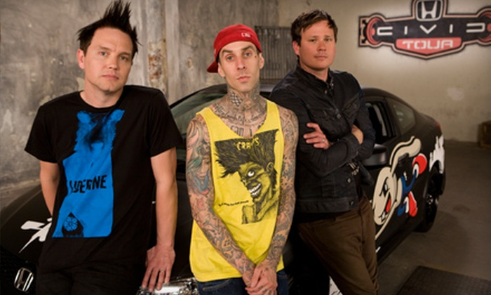 """Honda Civic Tour Presents: blink-182 and My Chemical Romance - Saratoga Springs: One Ticket to See """"Honda Civic Tour Presents: blink-182 and My Chemical Romance"""" at Saratoga Performing Arts Center (Up to $70.40 Value)"""