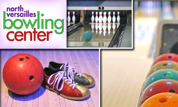 North Versailles Bowling Center - North Versailles: $25 for Two Hours of Bowling and Shoe Rental for Six People at North Versailles Bowling Center