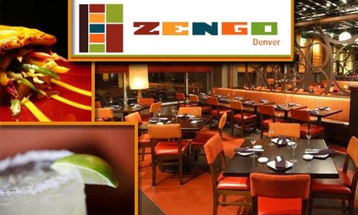 Zengo - LoDo: $25 for $50 Worth of Latin-Asian Cuisine at Zengo