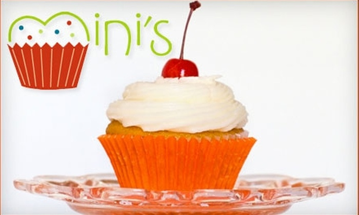 Mini's Cupcakes - Tucson: $10 for Six Cupcakes from Mini's Cupcakes ($21 Value)