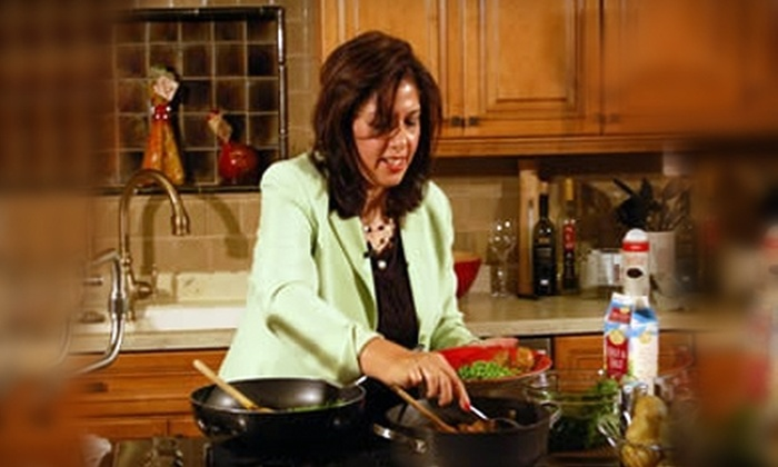 "White Jasmine Everyday Cooking - Madison: $35 for Two Tickets to a Taping of ""White Jasmine Everyday Cooking"" ($80 Value)"