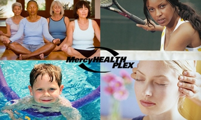 Mercy HealthPlex - Multiple Locations: $49 for a One-Hour Private Tennis Lesson plus a Two-Month Single Membership with Unlimited Club Access at Mercy HealthPlex