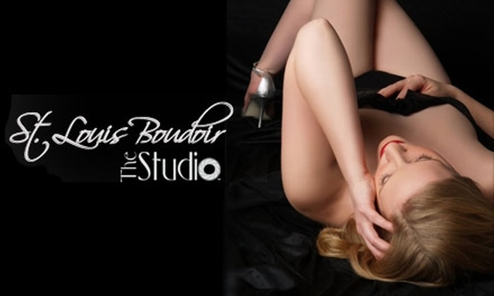 """St. Louis Boudoir by The Studio - Franz Park: $45 for a Boudoir Photo Shoot, a Retouched 5""""x7"""" Print, and a CD of Images from St. Louis Boudoir"""