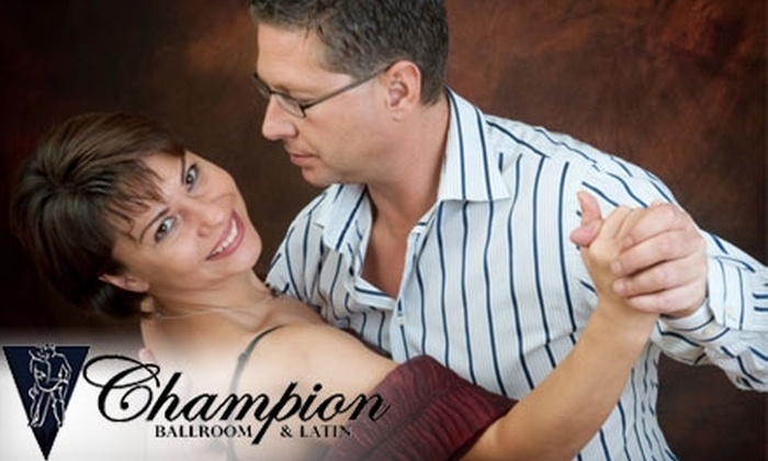 Champion Latin and Ballroom Dance - Birmingham: $15 for Three Private Lessons Plus Three Weeks of Unlimited Group and Practice Classes at Champion Ballroom & Latin Dance Studio ($195 Value)