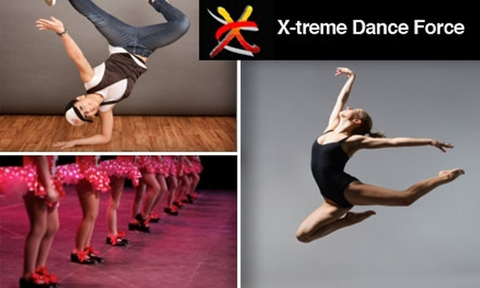 X-treme Dance Force - Charter: $59 for One Month of Unlimited Classes at X-treme Dance Force ($260 Value)