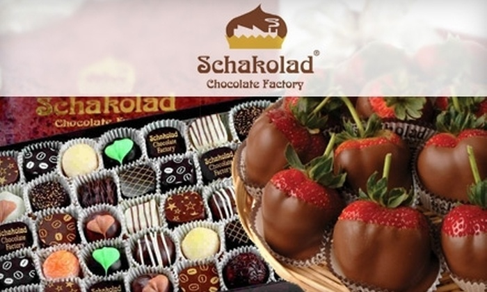Schakolad Chocolate Factory - Multiple Locations: $10 for $20 Worth of Chocolates and More at Schakolad Chocolate Factory. Choose from Two Locations.
