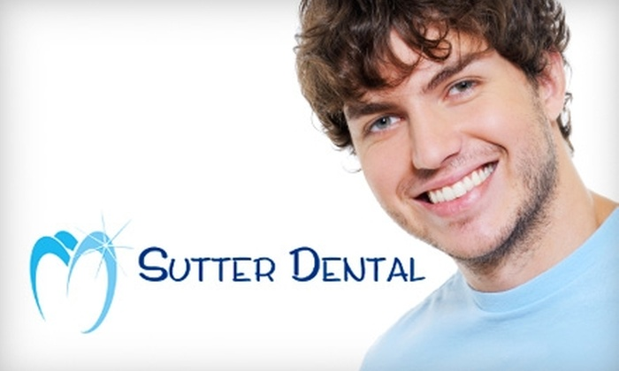 Sutter Dental - Downtown: $195 for a Zoom! Teeth Whitening at Sutter Dental ($599 Value)