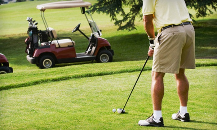Exeter Country Club - Exeter: Golf for Two or Four with Cart and Lunch at Exeter Country Club (Up to 58% Off)
