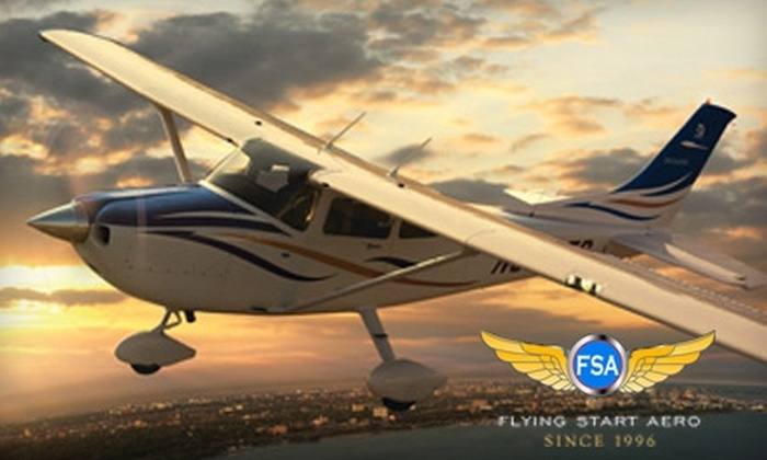 Flying Start Aero - Gardnerville-Minden: $100 for an Introductory Flight Lesson with Flying Start Aero ($225 Value)