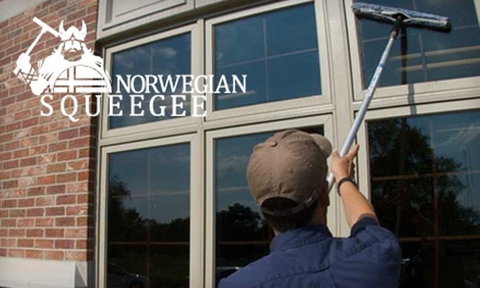 Norwegian Squeegee - Rockford: $49 for Window Cleaning on Homes Up to 1500 Square Feet ($99 Value) or $65 for Window Cleaning on Homes up to 3000 Square Feet ($139 Value) at Norwegian Squeegee