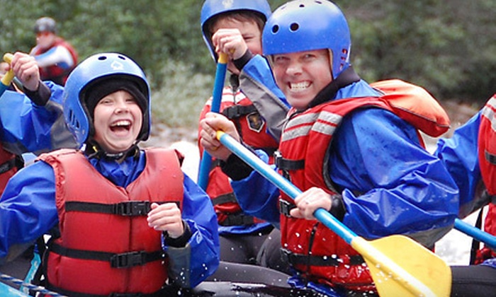 Wild Blue Yonder Adventure Tours Ltd. - Grand Cache: River Rapids Trip or Pirate Rafting Adventure from Wild Blue Yonder Adventure Tours Ltd. in Grand Cache (Up to 51% Off)
