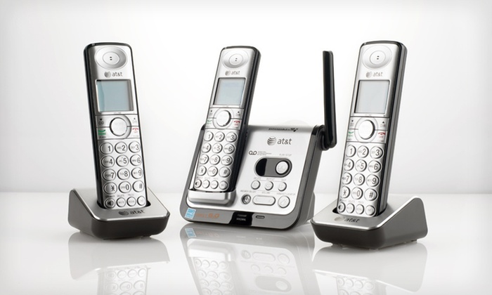 AT&T Three-Handset Answering System: $49 for an AT&T DECT 6.0 Digital Three-Handset Phone-Answering System ($79.95 List Price). Free Shipping.
