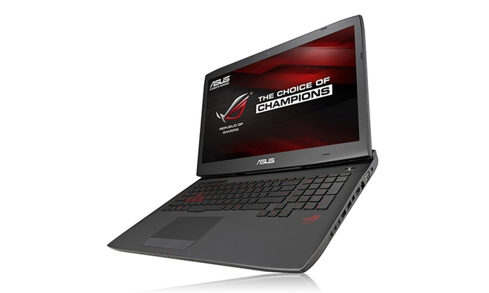 "ASUS 17.3"" Gaming Laptop with Intel Core i7-4710HQ 16GB 1TB Nvidia GeForce GTX 970M GPU (Manufacturer Refurbished)"