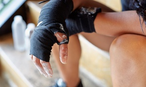 East Coast Fighter: Unlimited Fitness Kickboxing Classes for 2-Weeks or 1-Month at East Coast Fighter (Up to 69% Off)