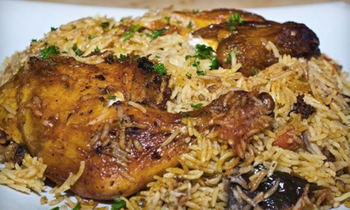 Old Jerusalem Restaurant - Grace Street Commercial,Downtown: Middle Eastern Cuisine for Two or Four at Old Jerusalem Restaurant (Half Off)