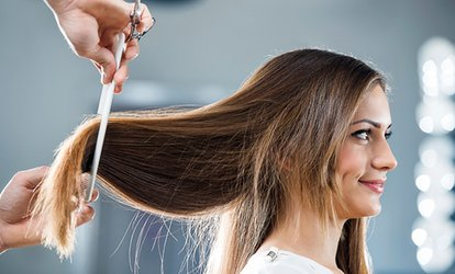 Consultation, Conditioning Treatment, Cut and Blow-Dry at Salon Seventy Four (Up to 58% Off)