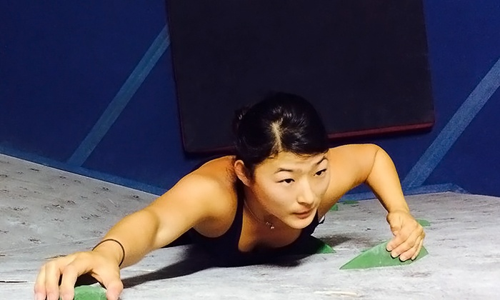 Rockzilla - Cental Napa: Indoor Rock Climbing for One or Two at Rockzilla (Up to 45% Off)
