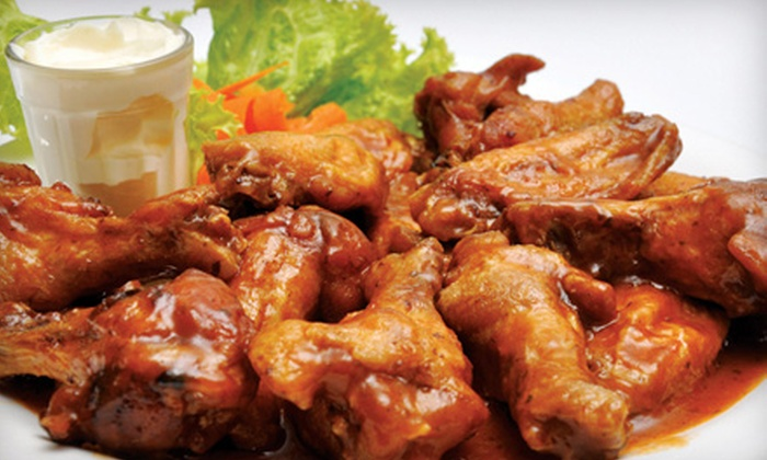 WingBusters USA - Multiple Locations: Family Meal with 35 or 75 Wings or $10 for $20 Worth of Wings and Sandwiches at WingBusters USA (Up to 51% Off)