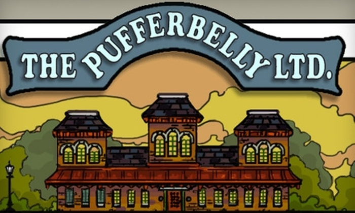 The Pufferbelly Ltd. - Kent: $10 for $20 Worth of Americana Fare at The Pufferbelly Ltd.