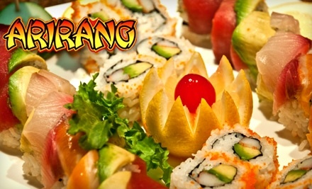 $40 Groupon to Arirang Hibachi Steakhouse and Sushi Bar - Arirang Hibachi Steakhouse and Sushi Bar in Parlin