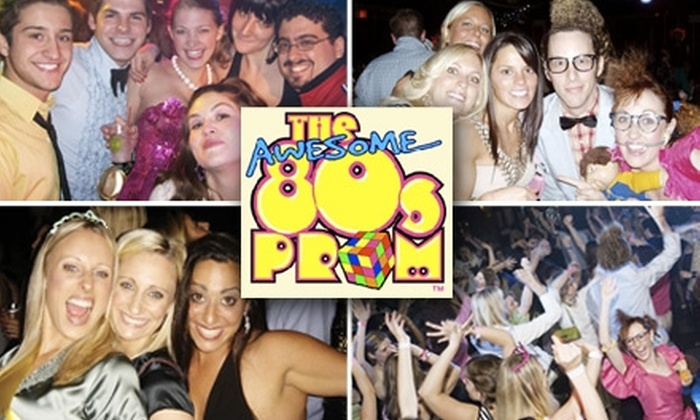 The Awesome 80s Prom - East Village: $29 for One Ticket to The Awesome 80s Prom ($58.49 Value)