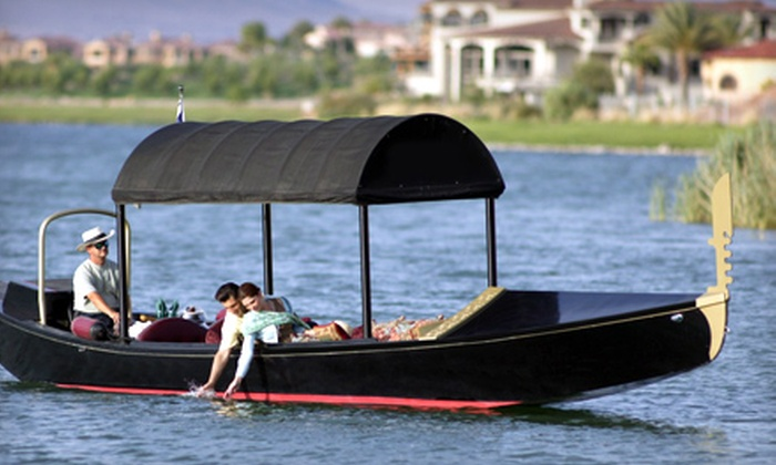 Gondola Adventures - Henderson: 90-Minute Gondola-Cruise Package for Two or Four from Gondola Adventures in Henderson