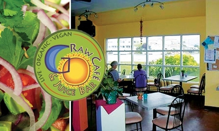 Go Raw Café - Multiple Locations: $12 for $25 Worth of Raw Cuisine at Go Raw Café