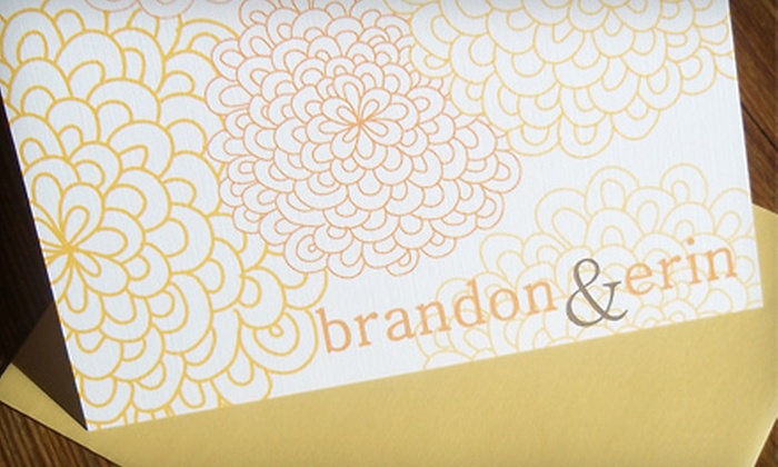 Earthy Invites: Eco-Friendly Stationery, Invitations, and Gift Tags from Earthy Invites. Two Available Options.