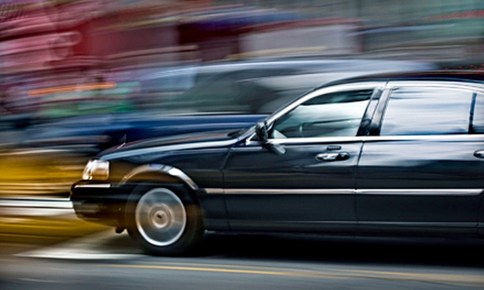 1st Class Car Connexions - Tampa Bay Area: $50 for One-Way Airport Transportation for Up to Four from 1st Class Car Connexions, LLC ($100 Value)