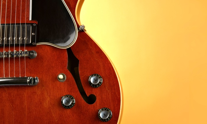 The Mobile Music School - New Orleans: Four Private Music Lessons or One Month of Unlimited Private Lessons from The Mobile Music School (Up to 76% Off)