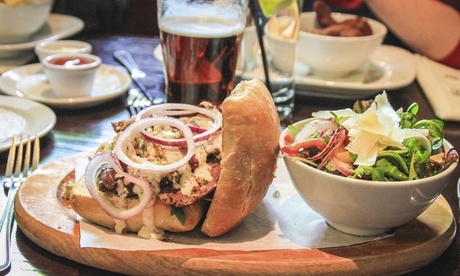 $11 for $25 Worth of Pub Food and Drinks at Lockwood's Longshot
