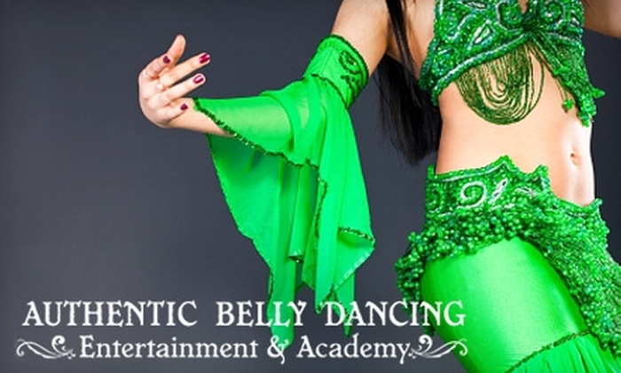 "Authentic Belly Dancing Entertainment and Academy - Irving: $75 for a Belly Dance ""Belly Gram"" from Authentic Belly Dancing Entertainment and Academy ($150 Value)"