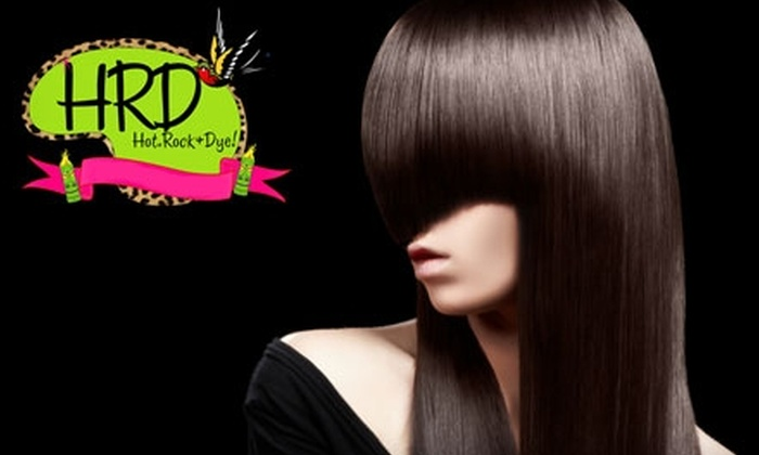 Hot,Rock&Dye! - Windsor: $50 for $120 Worth of Salon Services at Hot,Rock&Dye!