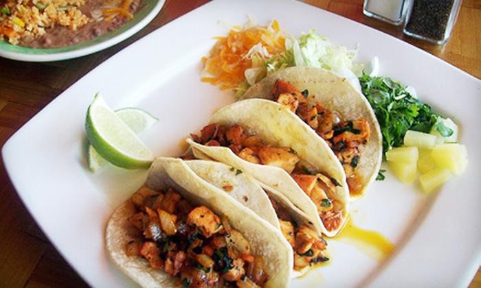 La Fiesta Café  - Delray Plaza: Mexican Fare and Drinks for Two or Four at La Fiesta Café in Delray Beach (Up to 55% Off)