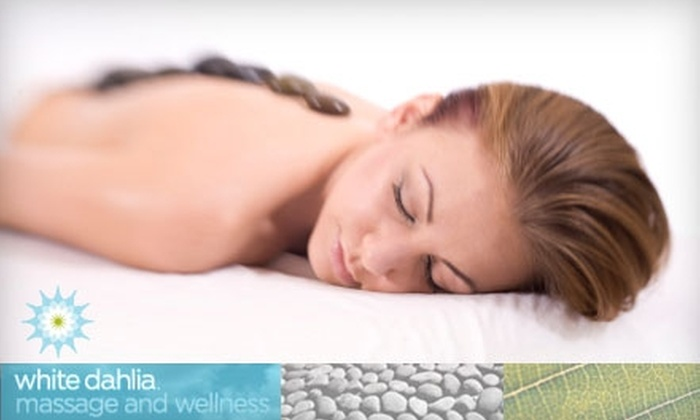White Dahlia - Raleigh / Durham: $58 for Any 90-Minute Massage at White Dahlia (a $118 Value)