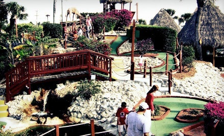 18-Hole Round of Miniature Golf for 2 - Golf Safari Mini Golf in Bonita Springs
