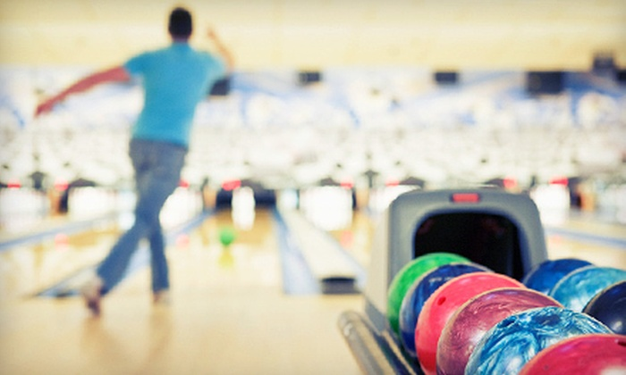 Ebonite Galaxy Lanes - Sagewood Estates: Two Hours of Bowling with Pizza and Soft Drinks for Two or Four at Ebonite Galaxy Lanes in Columbia (Up to 67% Off)