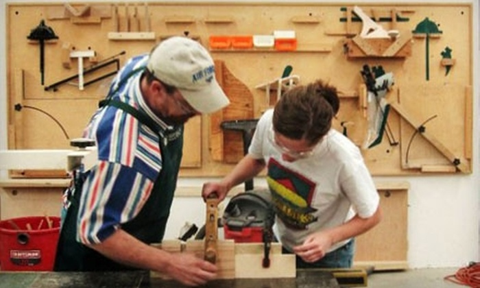 Half Off Woodworking Classes In Rockville Woodworkers Club Groupon