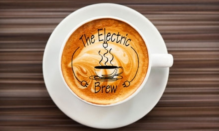 The Electric Brew - Goshen: $5 for $10 Worth of Coffee, Sandwiches, Salads, and Pastries at The Electric Brew in Goshen