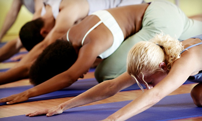 College Park Yoga Inc. - College Park: $39 for 10 Classes at College Park Yoga Inc. ($90 Value)