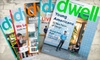 """Dwell"" Magazine: $10 for a One-Year Subscription to ""Dwell"" Magazine ($19.95 Value)"
