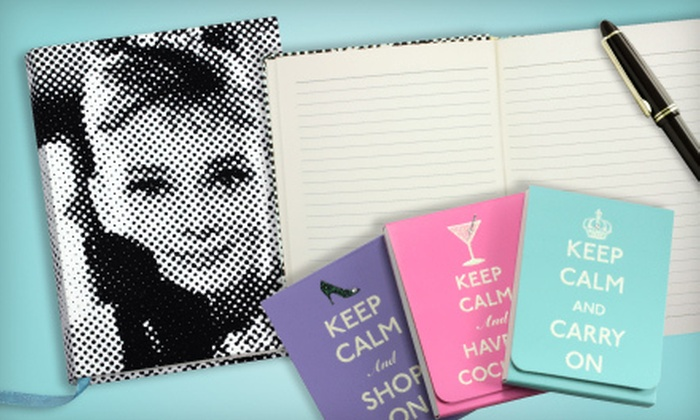 Graphique: Home Décor and Stationery from Graphique (Half Off). Two Options Available.