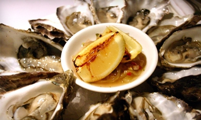 Pelican Bay Oyster Bar & Grill - Estrella: $15 for $30 Worth of Seafood & Drinks for Dinner at Pelican Bay Oyster Bar & Grill