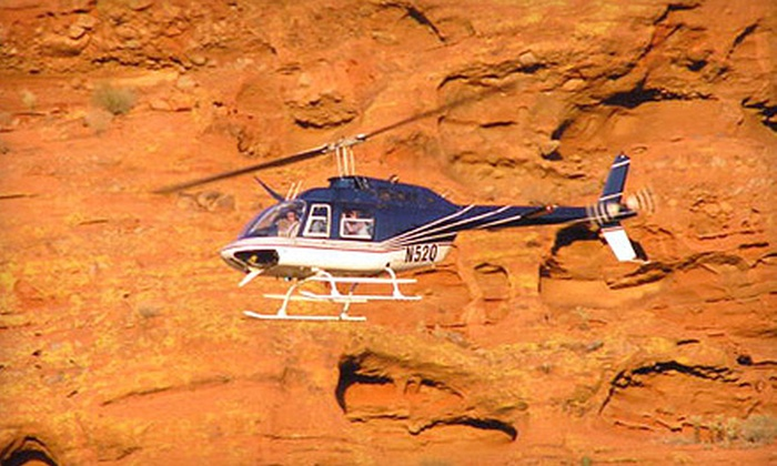 Skyblue Helicopters - North Scottsdale: 40-Minute Jet Helicopter Tour for Two or Four from Skyblue Helicopters (Up to 56% Off)